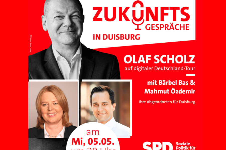 Einladung Duisburger Zukunftsforum SPD