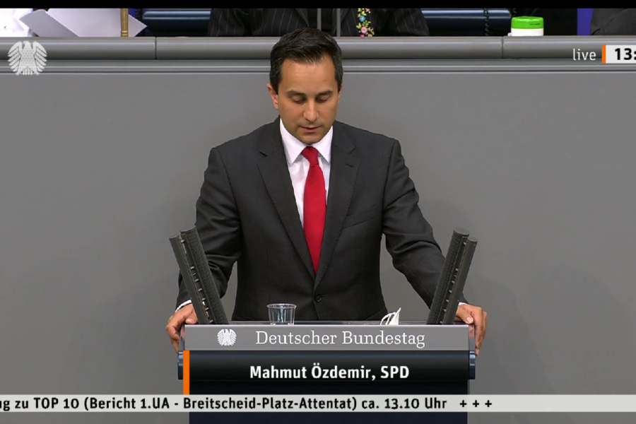 Rede Untersuchungsausschuss Mahmut Özdemir